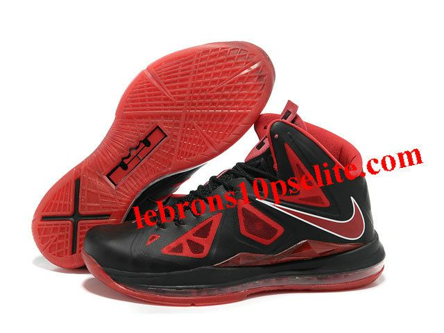 lebron 10 red