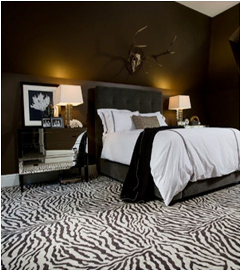 Zebra Decoration For Dormitories Bedrooms Decorating Ideas Dormitory Photos Dorms Pictures Bedroom Design And