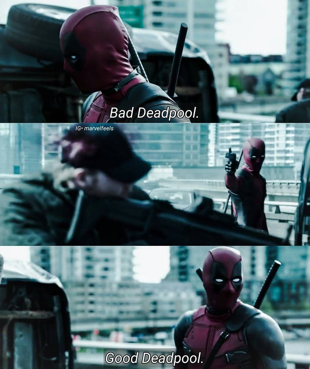 Instagram Photo By Enebriated Jun 19 2016 At 9 35pm Utc Deadpool Movie Deadpool Funny Deadpool