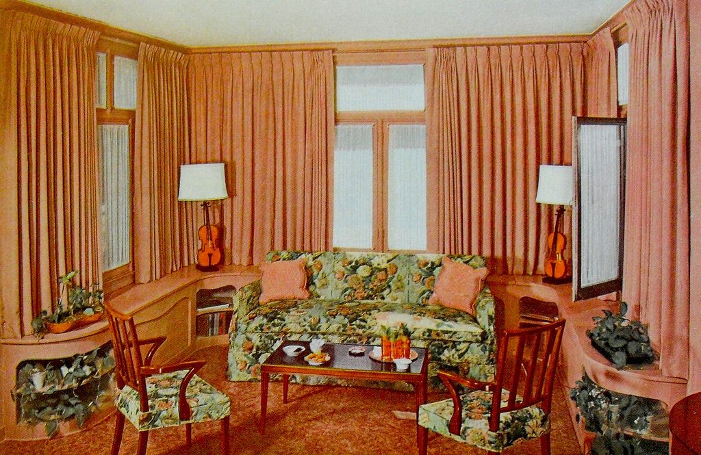1948 Interior Decorating Book Photo Living Room With Images