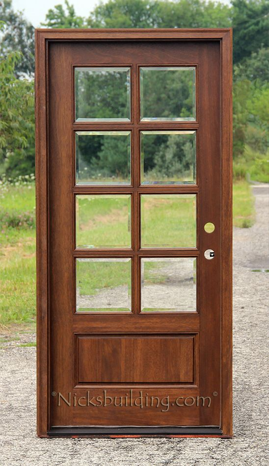 Clear Glass French Door With True Divided Lites 1078 From