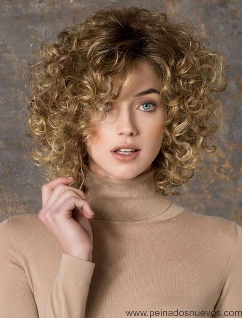 Peinados Pelo Corto Rizado Mujer 2019 Cortes De Pelo