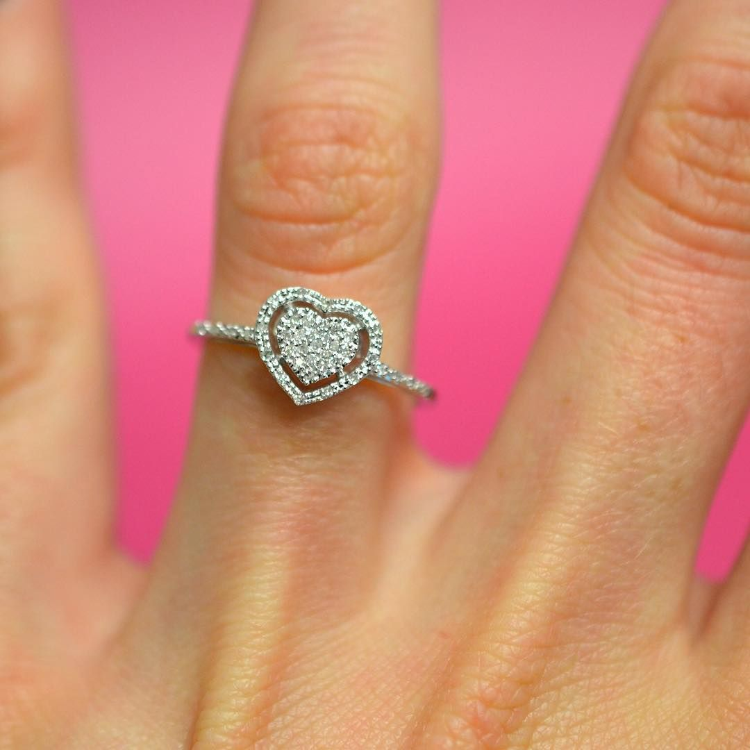 Nothing says promise like giving her your heart! This beautiful ...