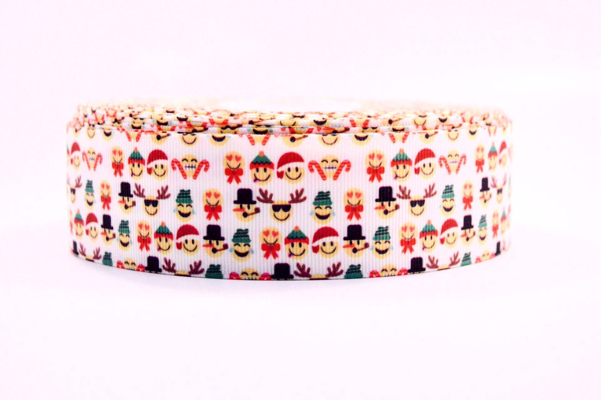 1 5 Holiday Emojis Decoration And Cheer Bow Ribbon
