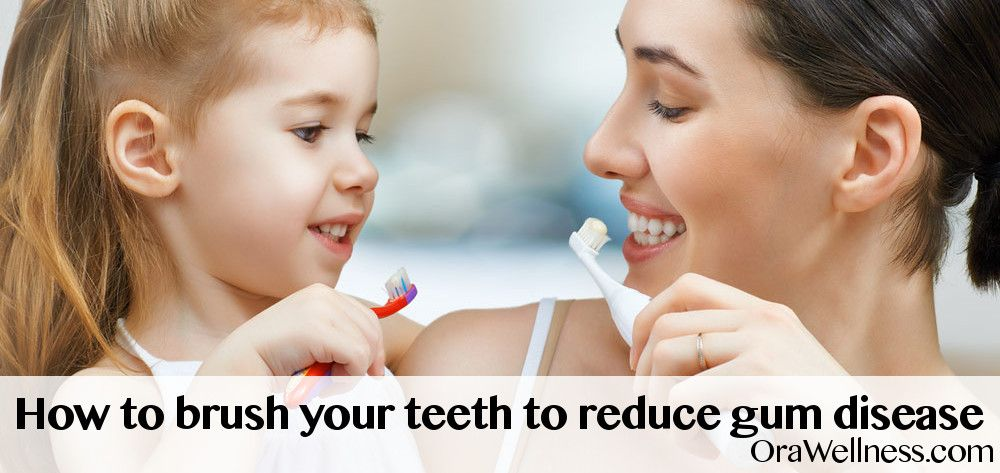 How To Brush Your Teeth To Reduce Gum Disease Dental