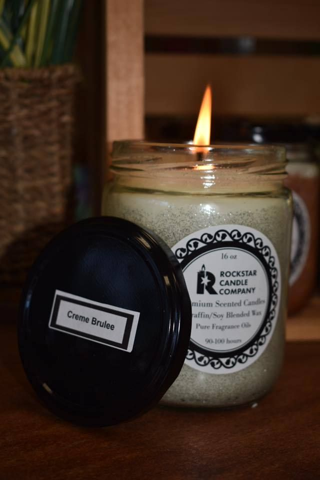 Our Signature Candle Handmade Poured In Small Batches With Special Blend Of Soy