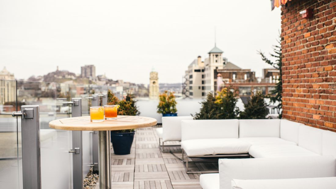 Cocktail terrace 21c cincinnati terrace bar lounge