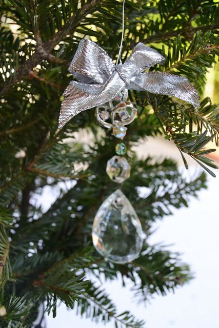 Diy Crystal Ornaments Love This Idea Christmas Ornaments Handmade Christmas Ornaments How To Make Ornaments