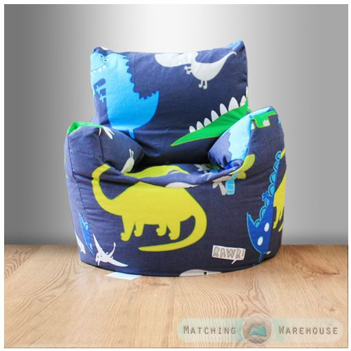 childrens character filled beanbag kids bean bag chair seat bedroom play tv room