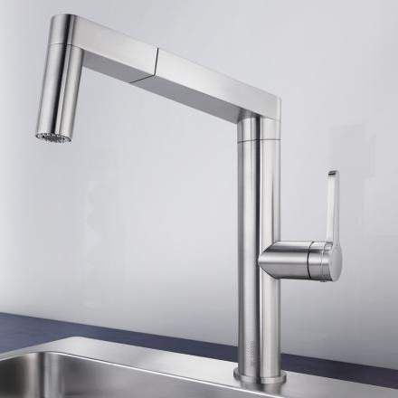 Blanco PANERA-S Designer Kitchen Tap with Pull-Out Hose The Blanco ...