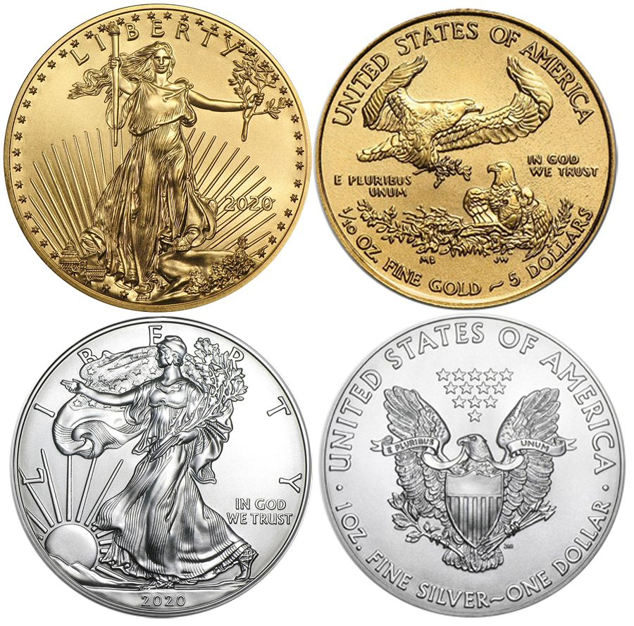 2020 American 1 Oz Silver Eagle 1 10th Oz Gold Eagle Bu Ase Age Tenth Set 2020 259 65 Aydin Coins Jewelry Buy Gold Coins Silver Coins Silver Bar In 2020 Gold