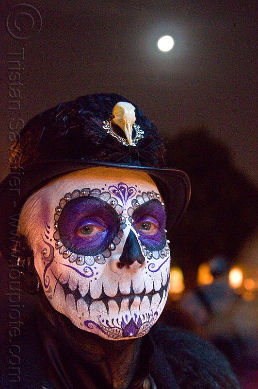 Image Result For Dia De Los Muertos Face Paint Man Skull Maquillage Halloween Maquillage Halloween