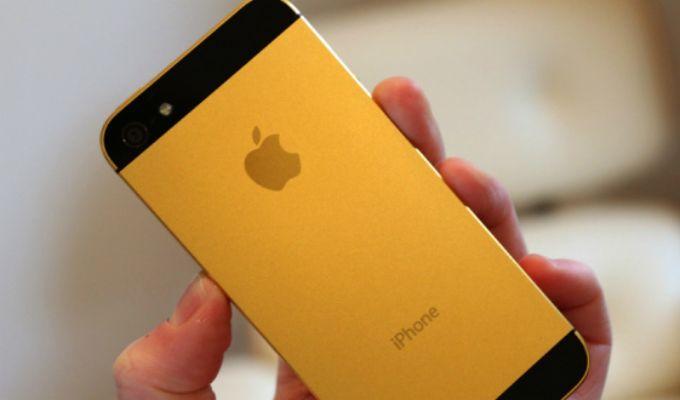 El iPhone 5S en color oro aparece en im�genes on http://conectica.com.mx