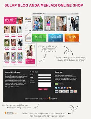 Cara Membuat Blog | Website Bisnis Online: Contoh Desain Web Untuk ...