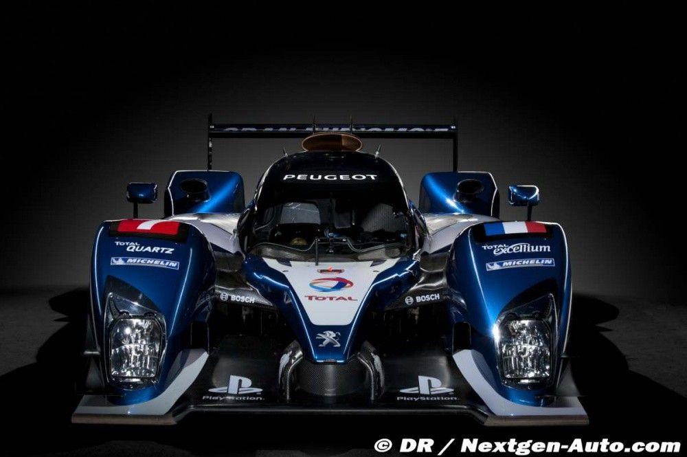 24h du Mans : la Peugeot 90X est une 908, Nissan signe ...
