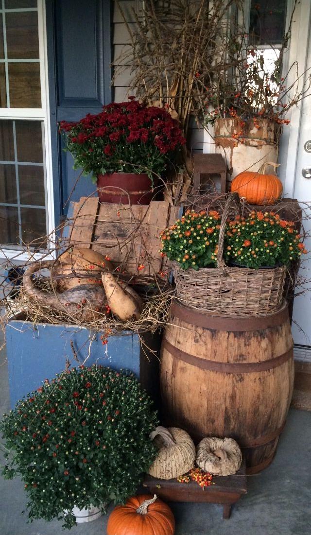 Herbstdeko garten garten pinterest herbstdeko g rten und herbst - Herbstdeko pinterest ...