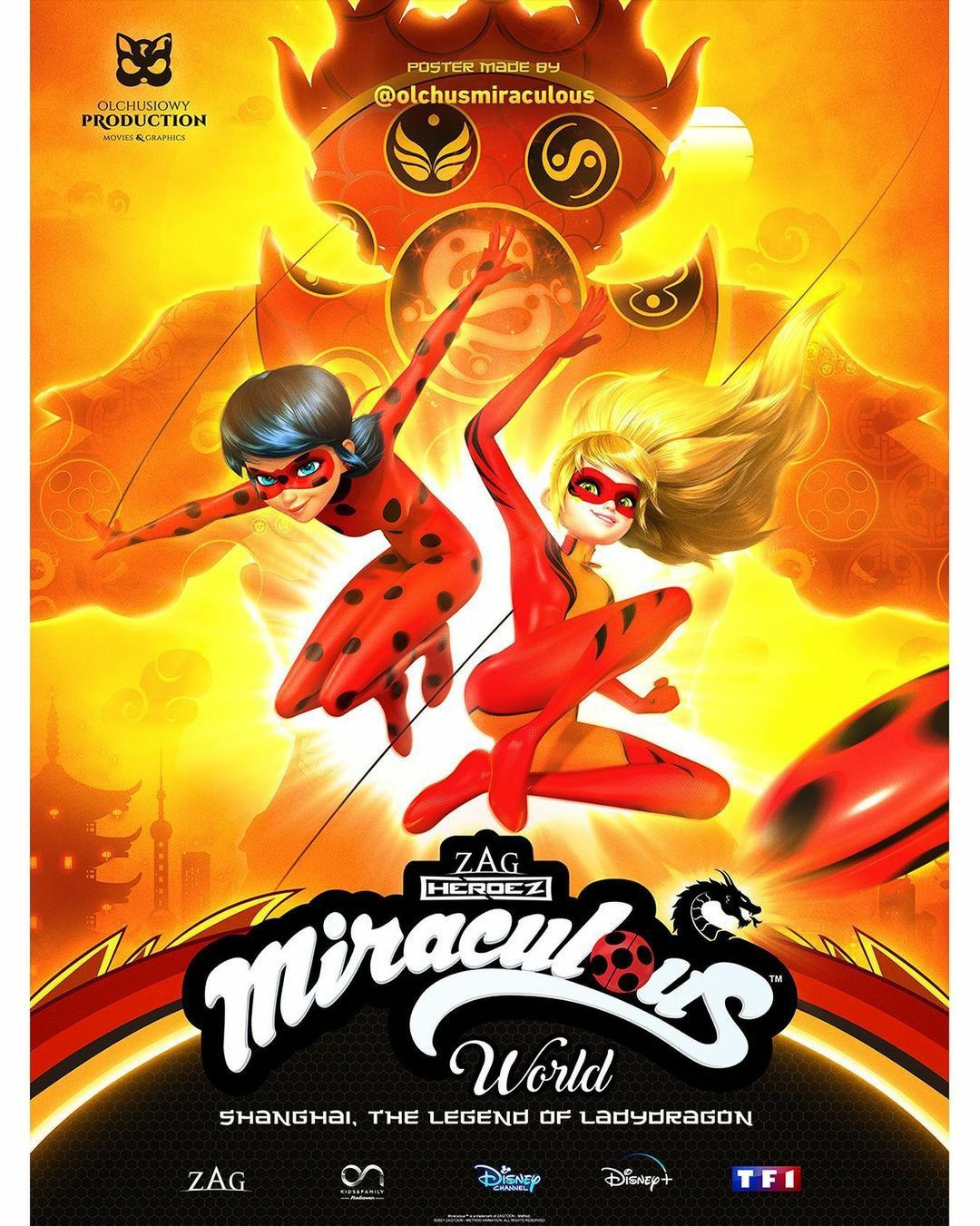 Miraculous World,Shanghai Special ;The Legends Of Ladydragon 🐉🥀🔥 in 2021  | Miraculous ladybug movie, Miraculous ladybug comic, Miraculous ladybug  anime