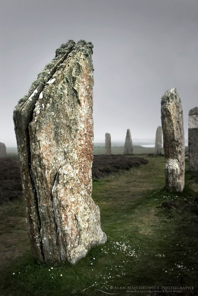 Ring of Brodgar, Orkney Islands Scotland #12526r | Alan Majchrowicz Photography