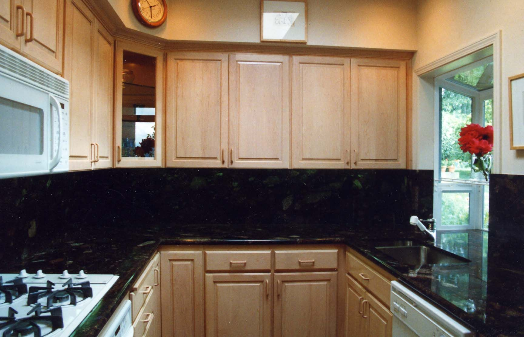 Granit Arbeitsplatte Virginia Black Centreville Home Decorating Kitchen Backsplash Granite