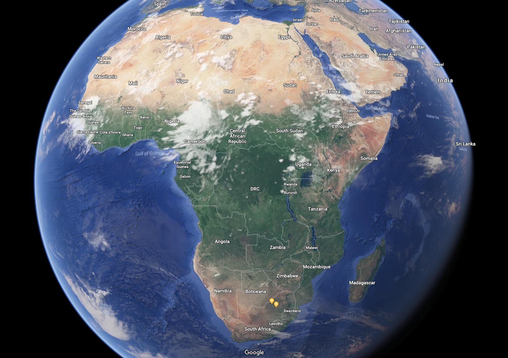 Google Map's new globe Us map, Globe, Map