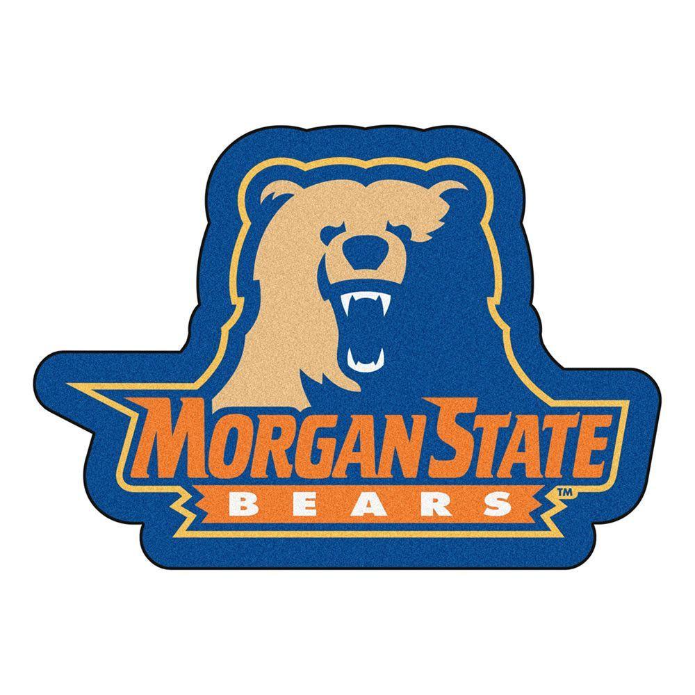 Morgan State Bears NCAA Mascot Mat 30x40
