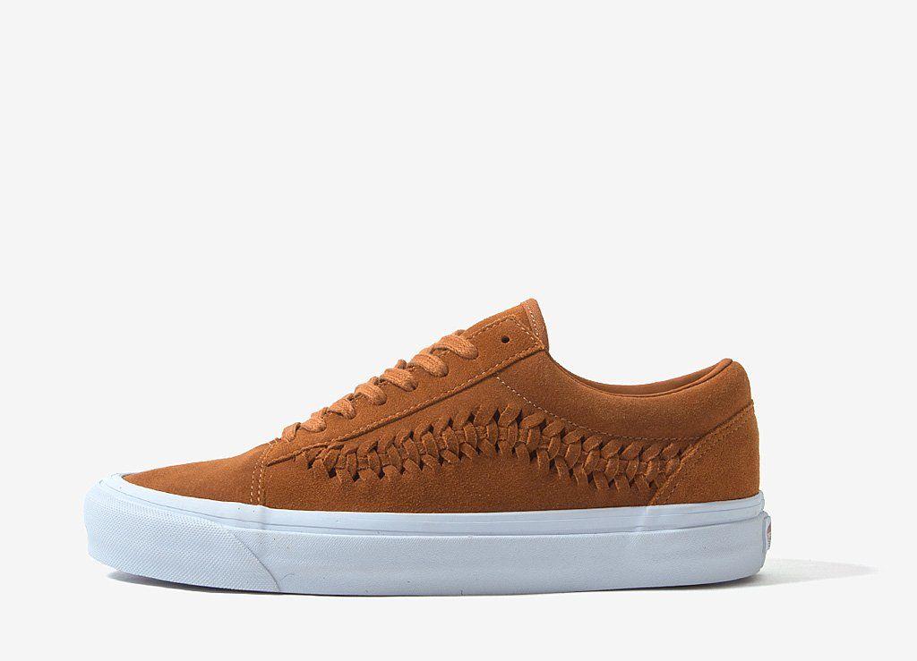 Vans Old Skool Weave DX Shoes - (Suede) Glazed Ginger  ff9de478d