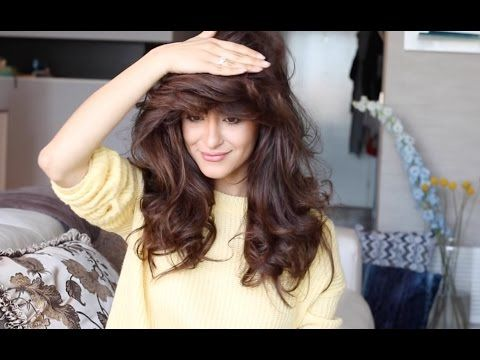 How To Get Big Volumized Hair Youtube Big Volume Hair Big Hair Curls Volume Volume Hair