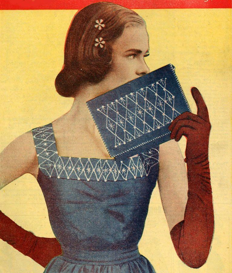 "the50sbest: "" 1950s Magazine Illustration """