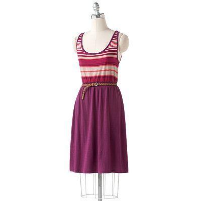 SONOMA life + style® StripedTank Dress  sale $29.99  original $44.00
