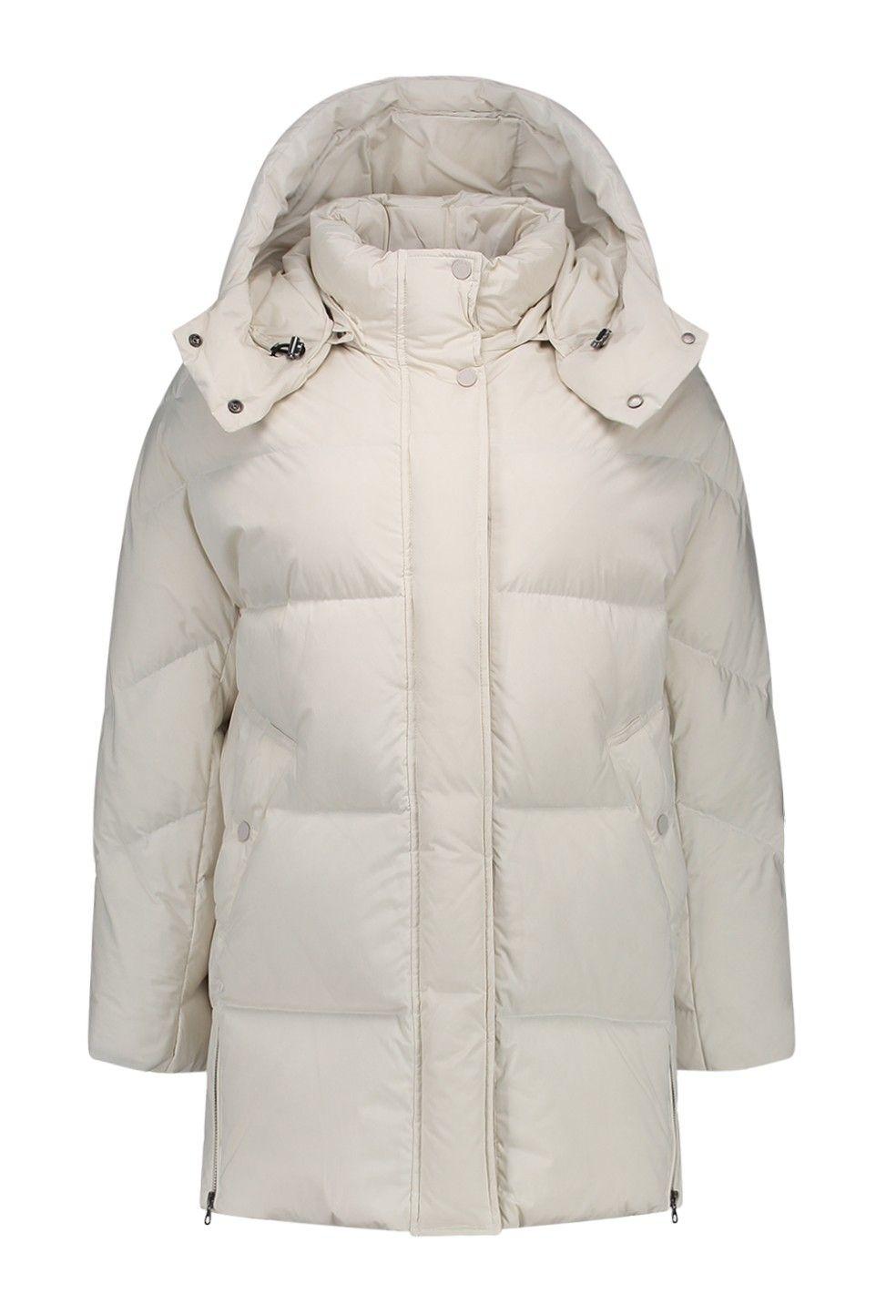 Winterjas Merken 2019.Woolrich Aurora Puffy Coat Wwcps2599 Pd40 White Igloo Merken Bloom