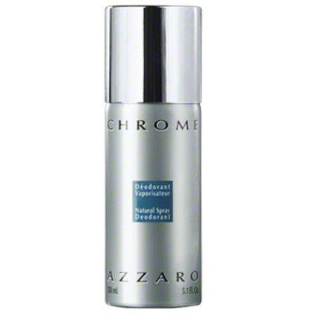 Fragrância Cítrica Desodorante Azzaro Chrome Spray Masculino 150ml