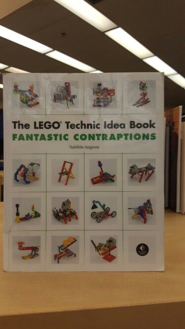 This is another Lego book about building more intricate machines using Legos by Isogawa Yoshihito.
