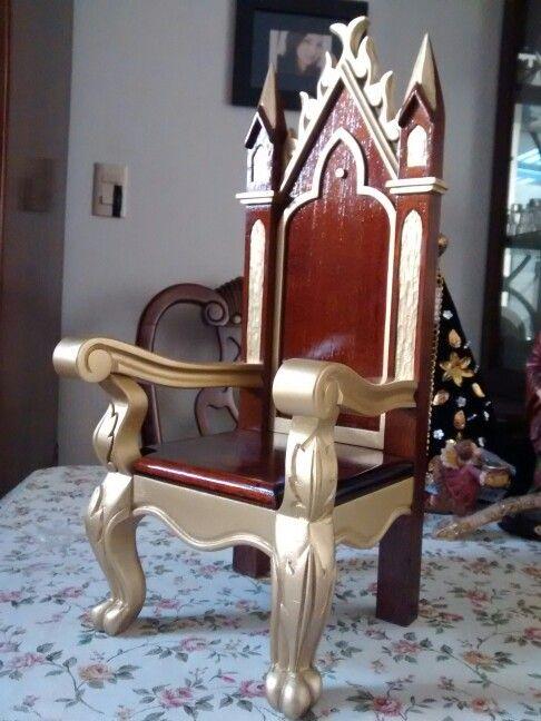 Silla de madera para niño Dios | sillas de madera | Pinterest ...