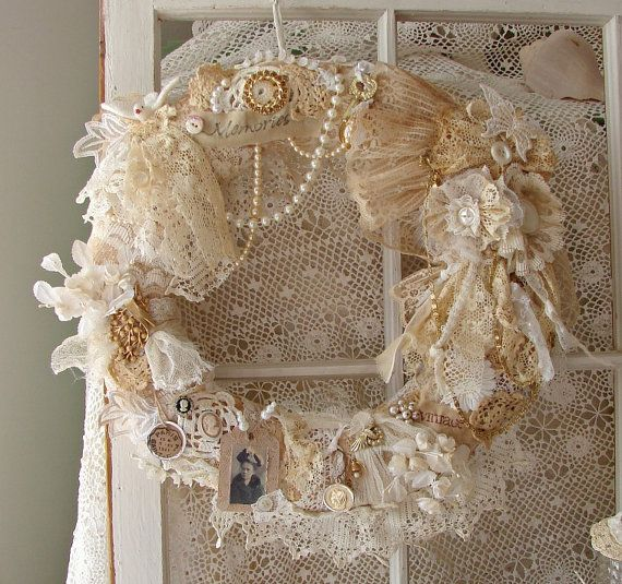 25 Best Shabby Chic Christmas Decoration