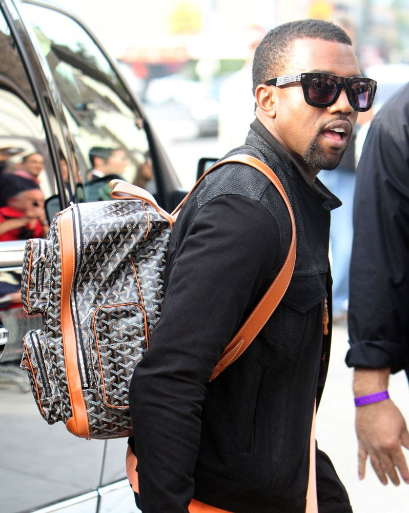 The Many Bags Of Accessory Loving Male Celebrities Page 32 Of 37 Purseblog Kanye West Kanye West Style Mens Fashion