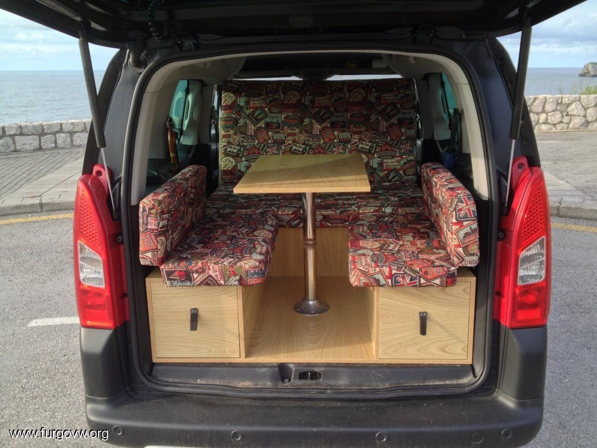 kangoo y demas minicamper con muchassss fotossss. Black Bedroom Furniture Sets. Home Design Ideas