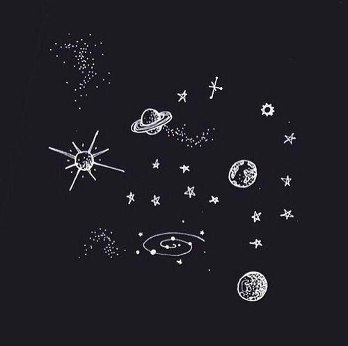Resultado De Imagem Para Caderno Astronomia Tumblr Terra Desenho