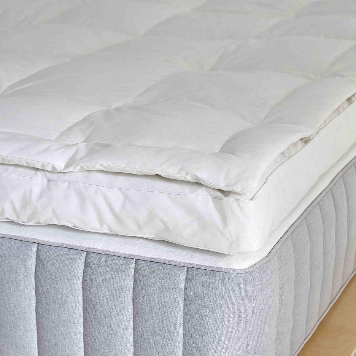Down Mattress Topper Mattress Mattress Topper Plush Pillows