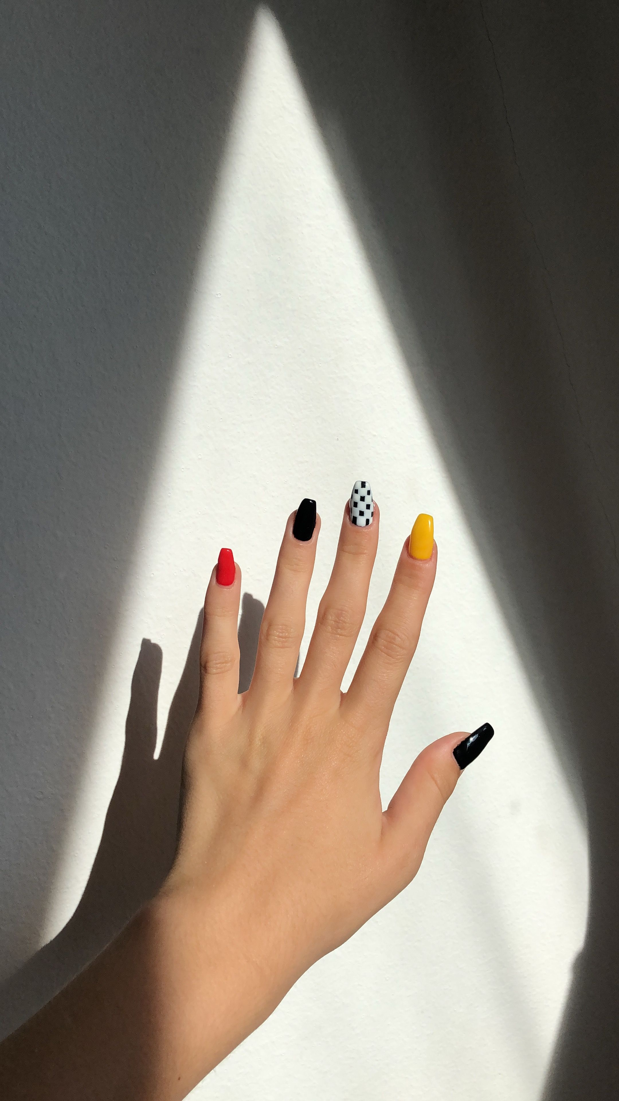 Grunge Nails Pretty Acrylic Nails Coffin Nails Designs