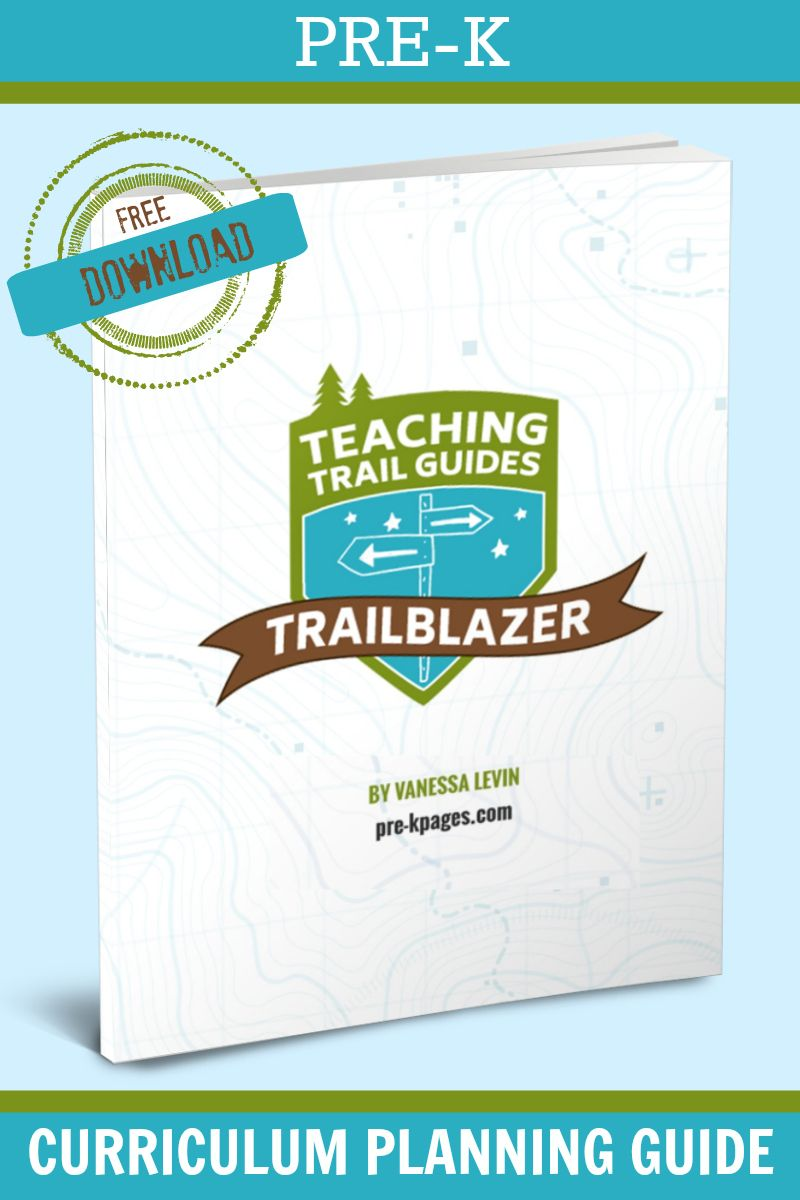 Trailblazer Pre K Curriculum Planning Guide