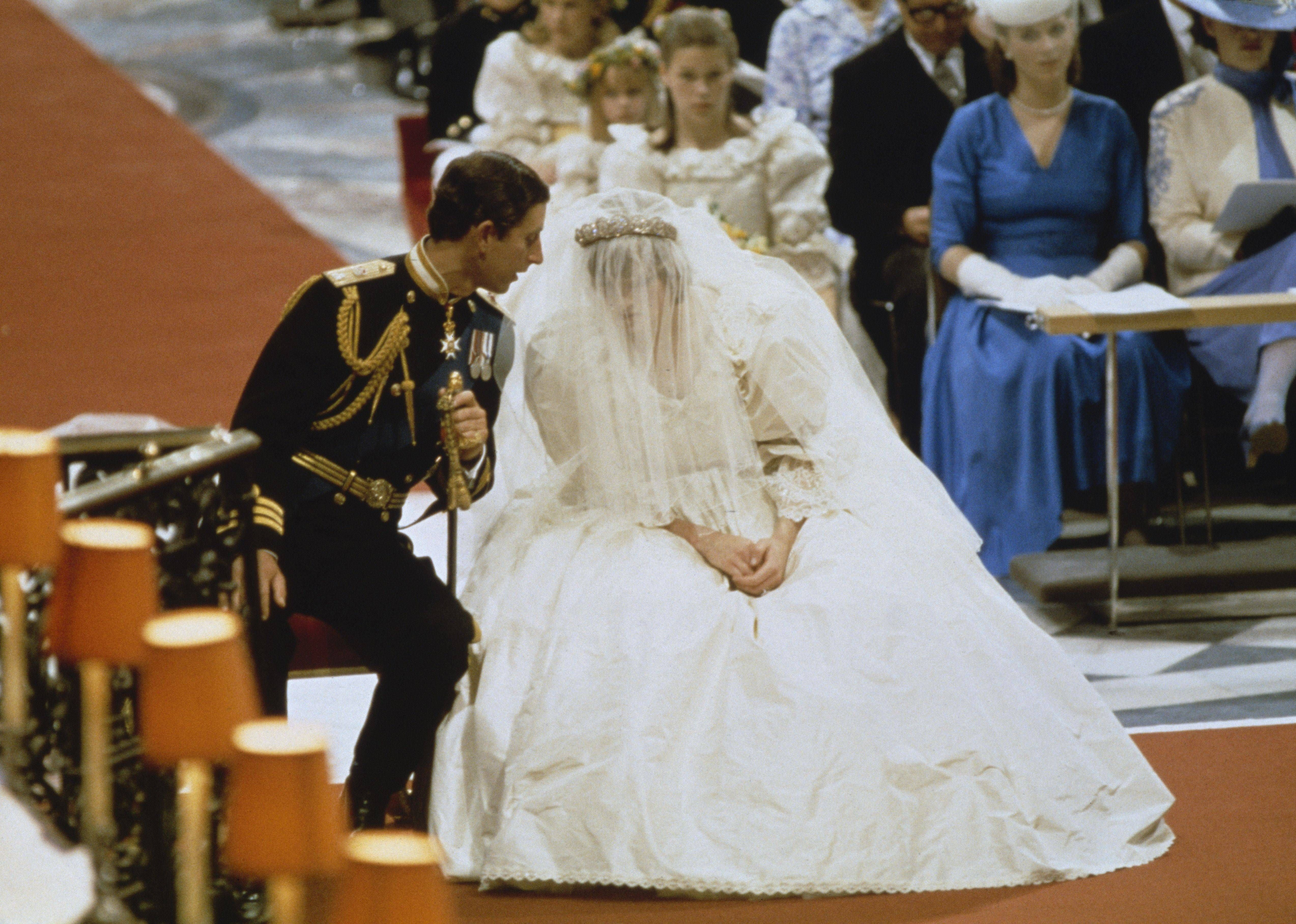 Princess Diana Marries Prince Charles Photographs From The Wedding Of Spencer To Wales In