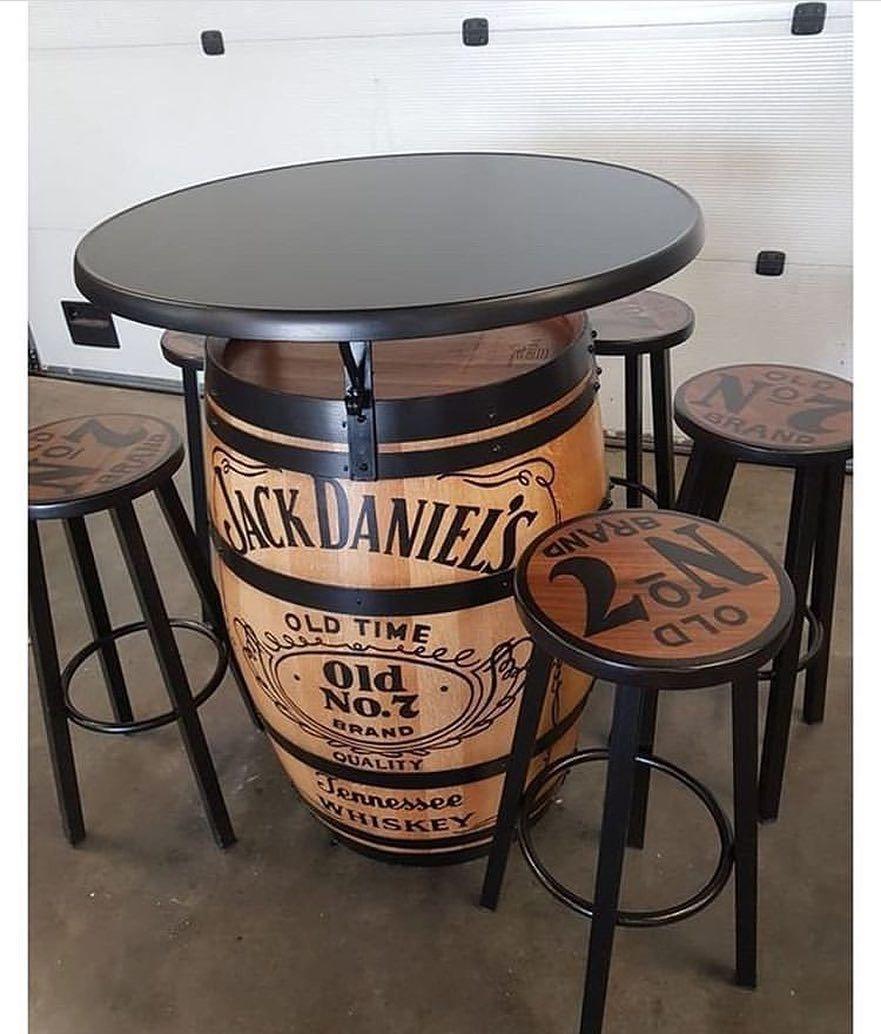 Marceneiro Inteligente On Instagram Mesa E Cadeira Da Jack Daniels