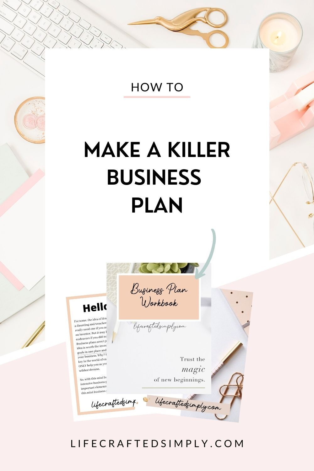 Small Business Plan Template Instant Download Simple