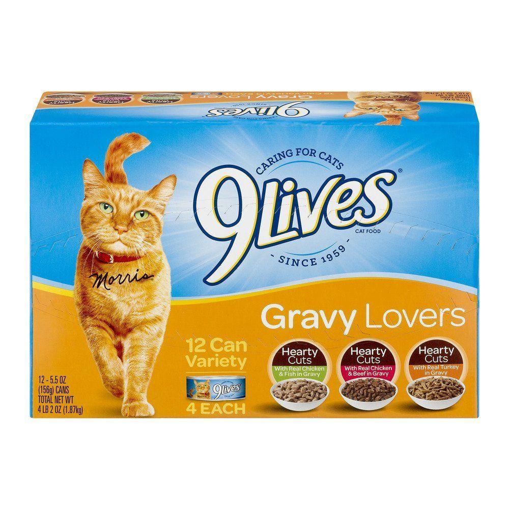 9 lives variety gravy favorites wet cat food gravy