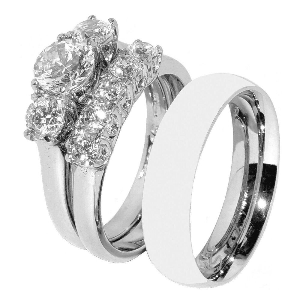 Click to find 100+ Wedding Ring Sets His And Hers of His