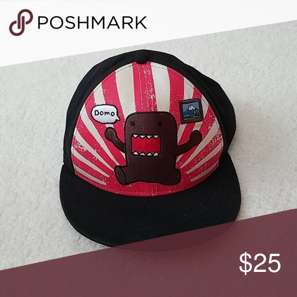 e71eed0110a Domo Hat Gently used in good condition. fun collectible. creme stripes have  slight