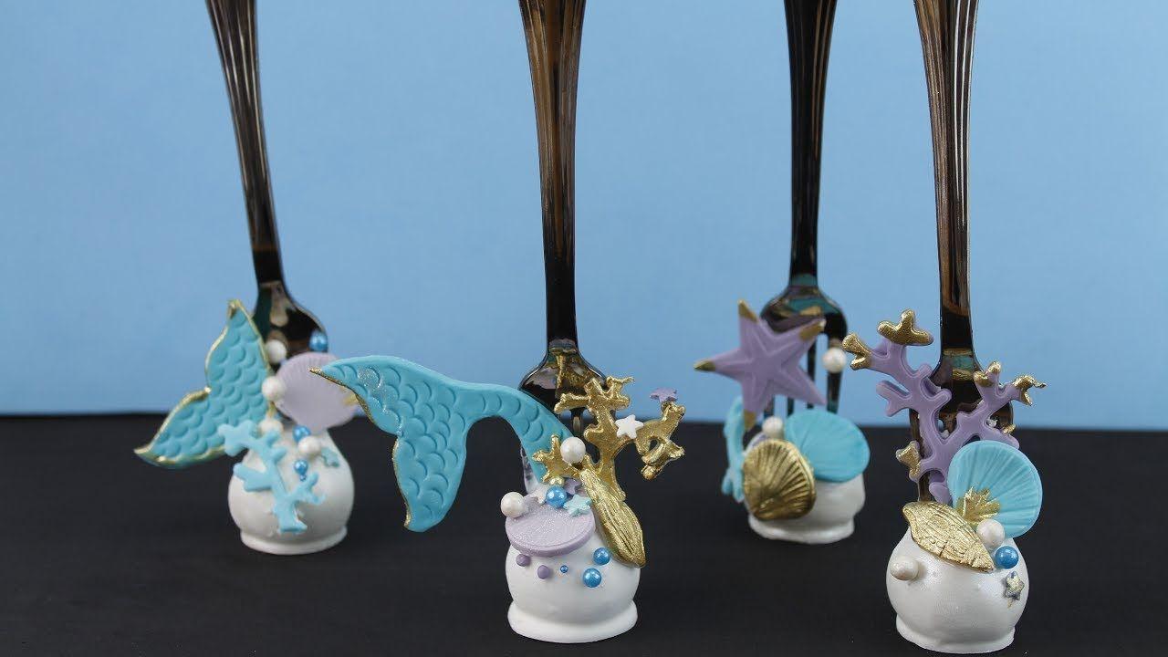 Cake pops de la sirenita mermaid cake pops havfru