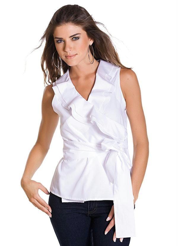 Blusas Transpassadas - Fotos e Modelos | Moda Mulher | Pinterest ...