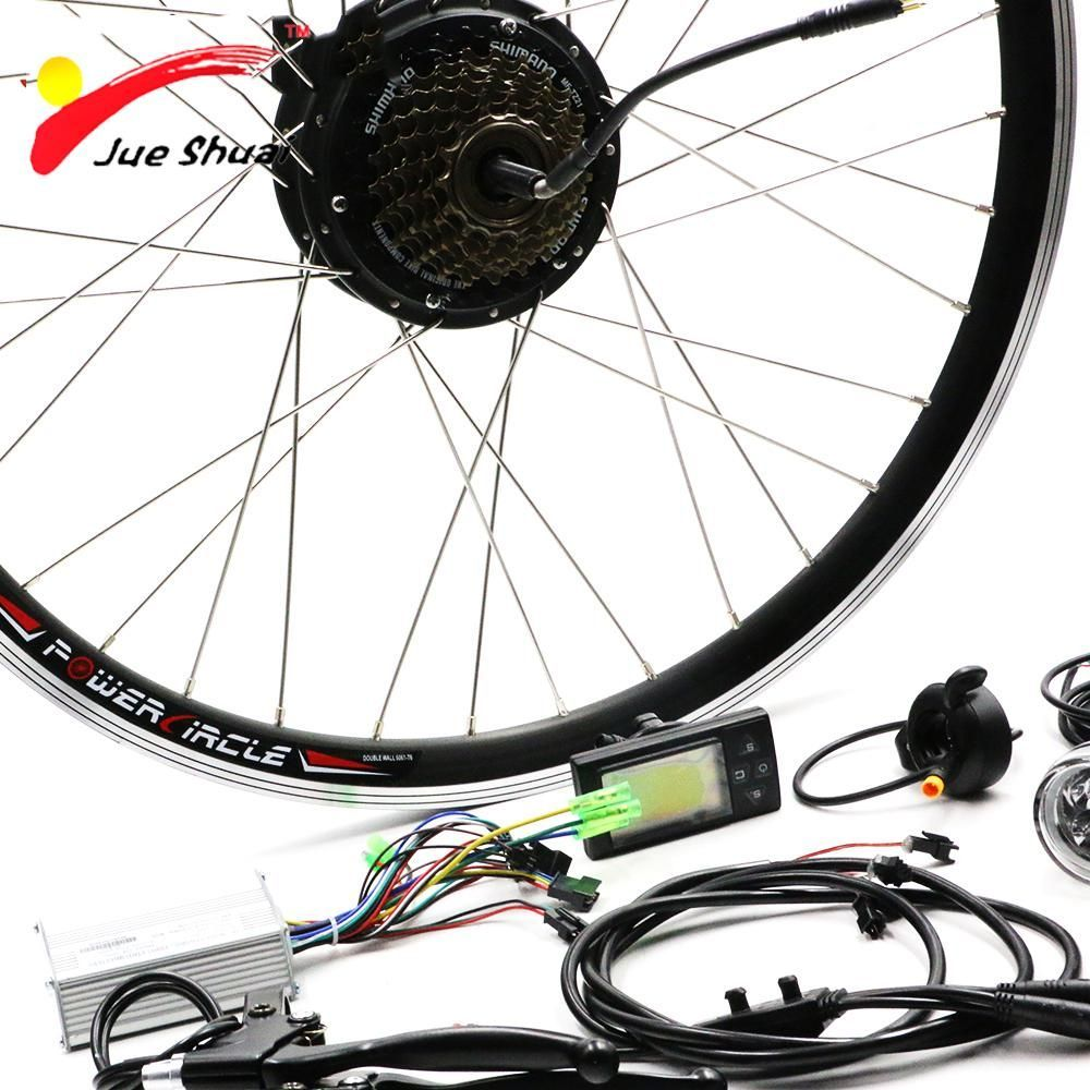 36v 250w Rear Hub Motor Electric Bicycle Conversion Kit Led Display Electric Bike Mo Electric Bike Bicycles Electric Bike Motor Electric Bicycle Conversion Kit