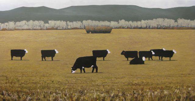 Jeff Pugh, oil painting